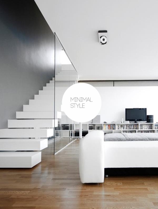 minimal style arredamento casa